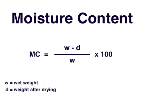 Image result for moisture content