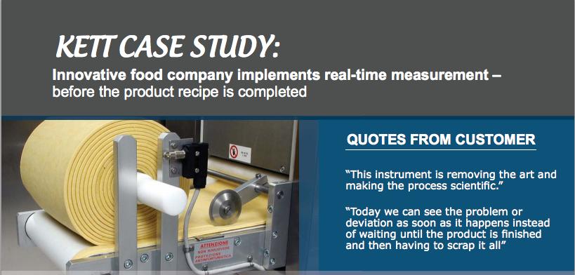 moisture measurement real time case study