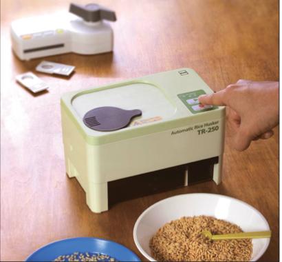 Kett Rice Husker Automatic TR250