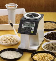 grain and seed moisture meter