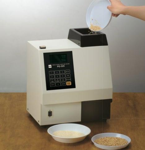 single grain and seed moisture meter