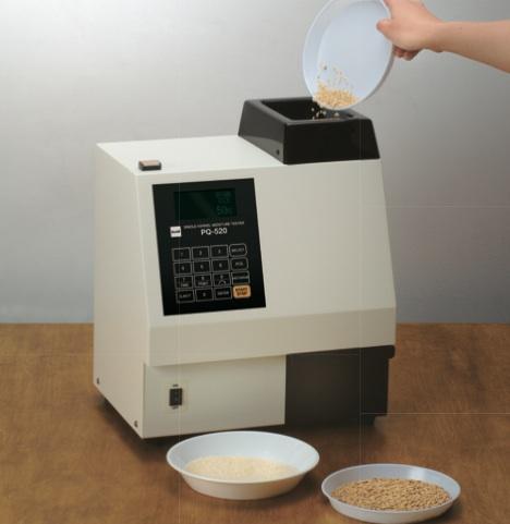 single grain moisture tester